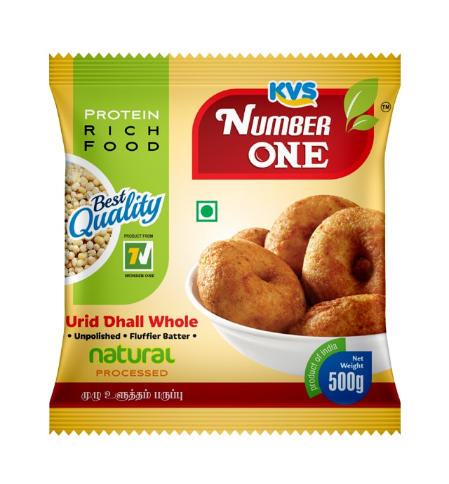 Number One Foods Urid dhall Whole