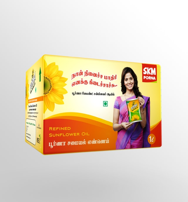SKM Poorna Refined Sunflower Oil